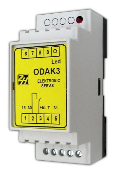 Oddělovač akumulátoru - ODAK 3 ODAK 3