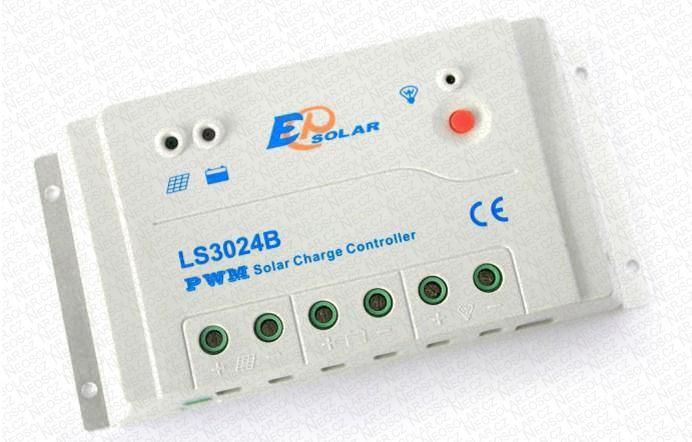 PWM solární regulátor 10A 12/24V